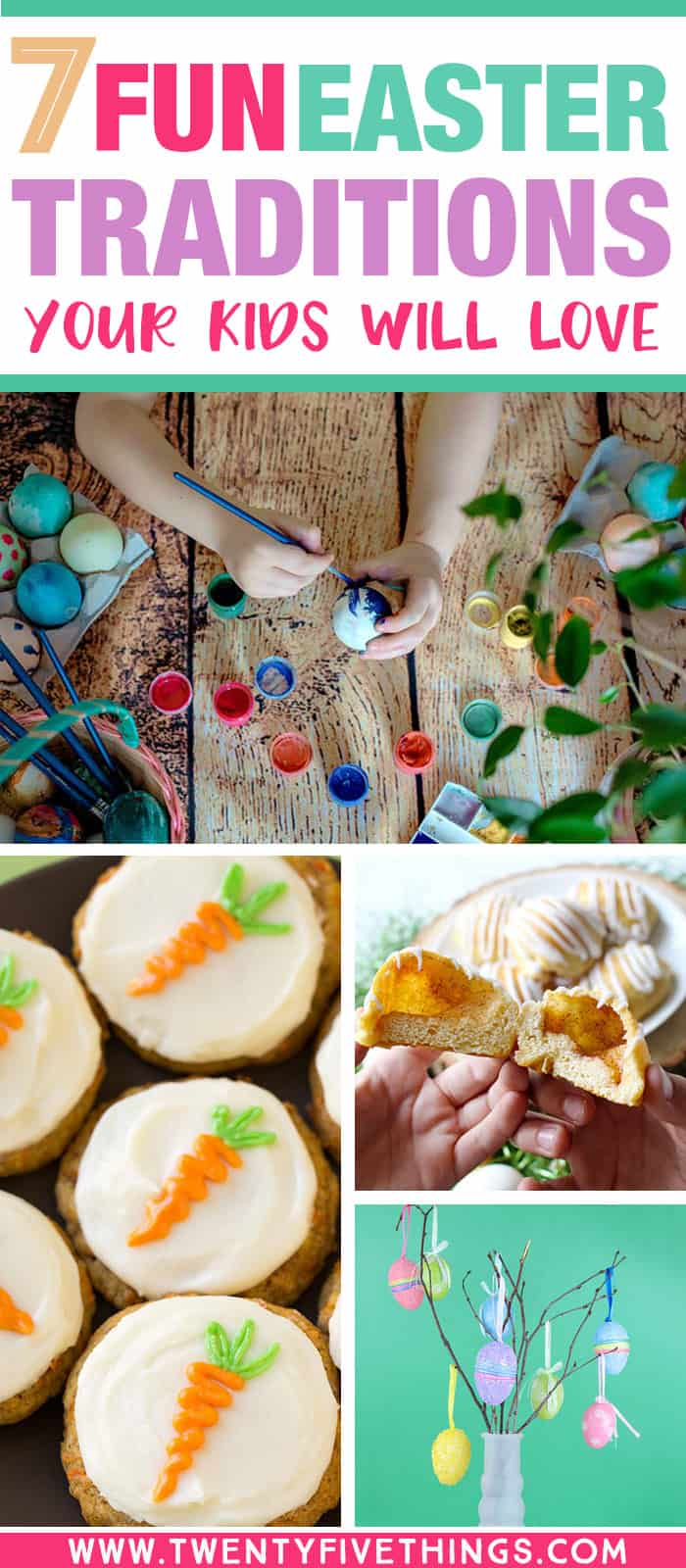 Find some new ways to celebrate Easter with these 7 fun Easter traditions to start this year with your family.