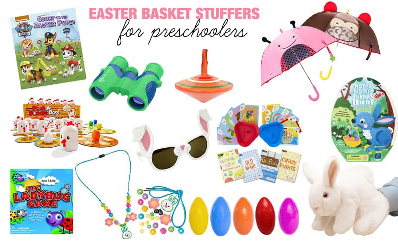 Easter basket stuffers ideas for every age twentyfive things easter basket stuffers for preschoolers row 1 negle Choice Image