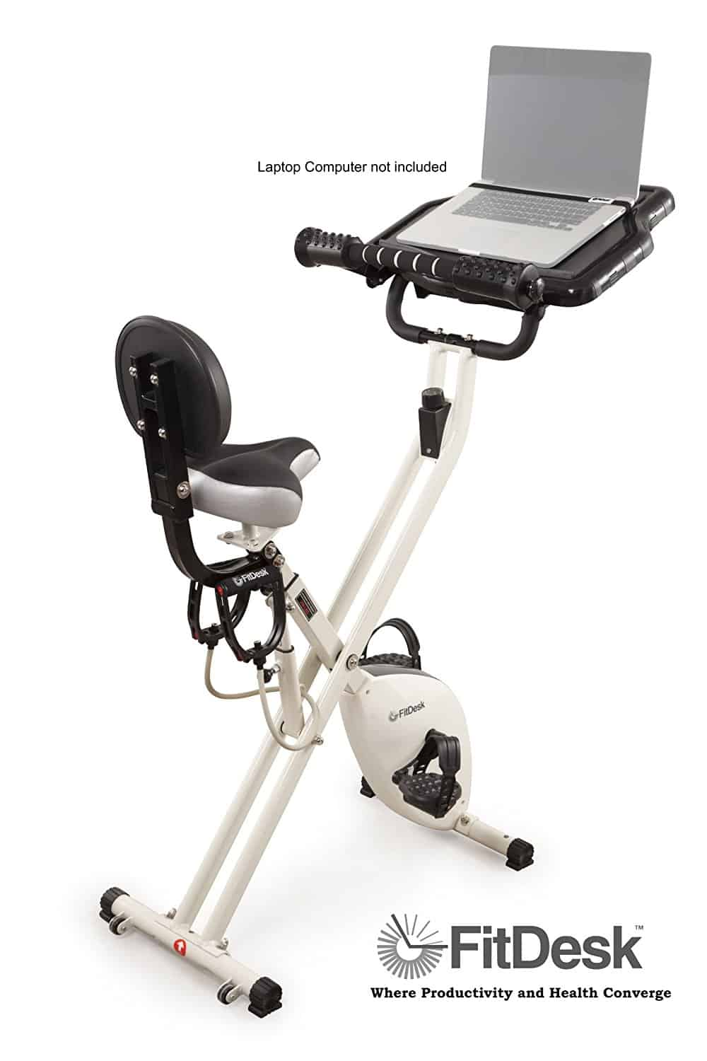 Using this fit desk exercise bike is the only way I've been able to get physical activity as a blogger.