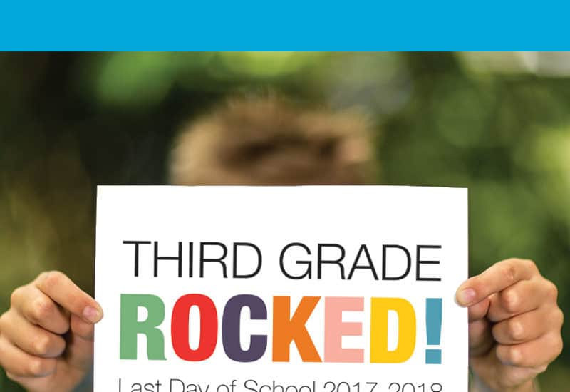 Free Printable Last Day of School Signs for All Grades