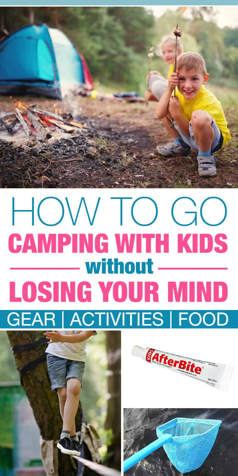We do most of the things on this list and our kids love to go camping. It's not as hard as it seems as long as you bring plenty of things to do.