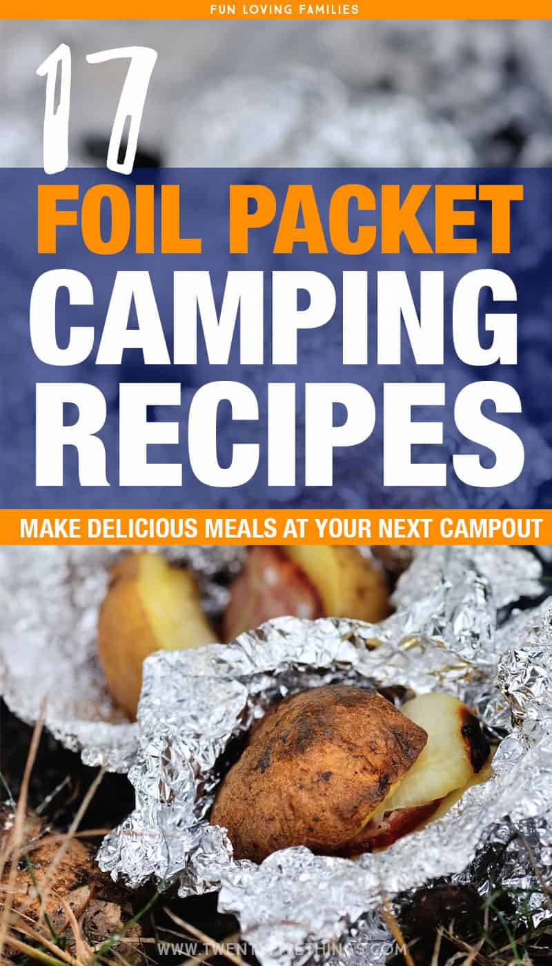 Use these foil packet camping recipes for your camp dinners. The food tastes delicous and the the foil makes it super easy to clean up.