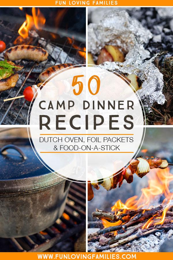 camp dinners