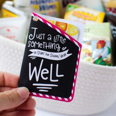 Teacher Survival Kit: Simple Back-to-School Teacher Gift Idea