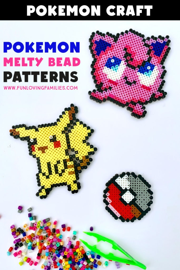 pokemon characters made with Perler Beads
