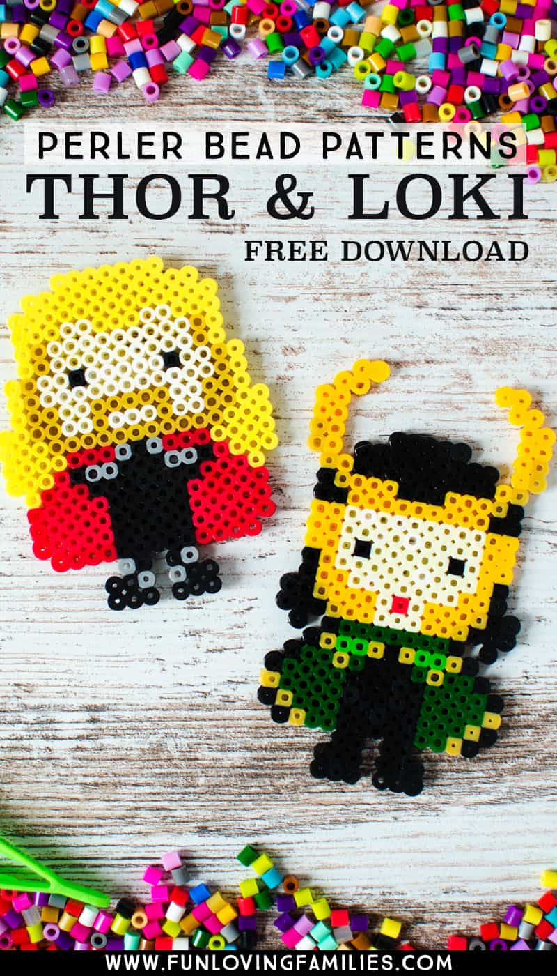 15+ Free Perler Bead Patterns - Fun Loving Families