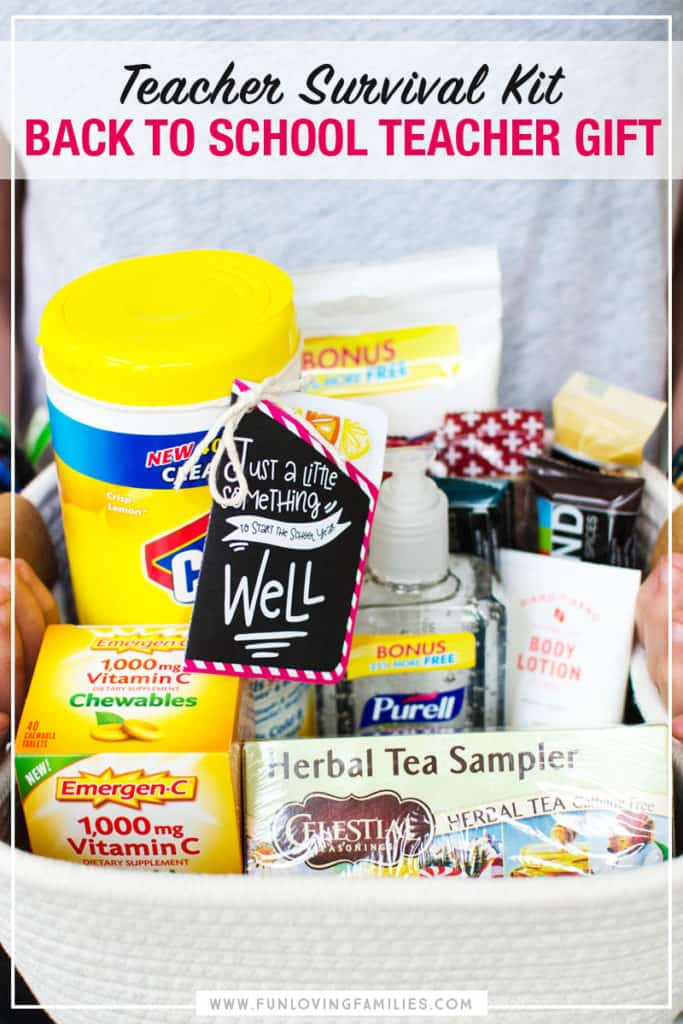 teacher survival kit diy gift