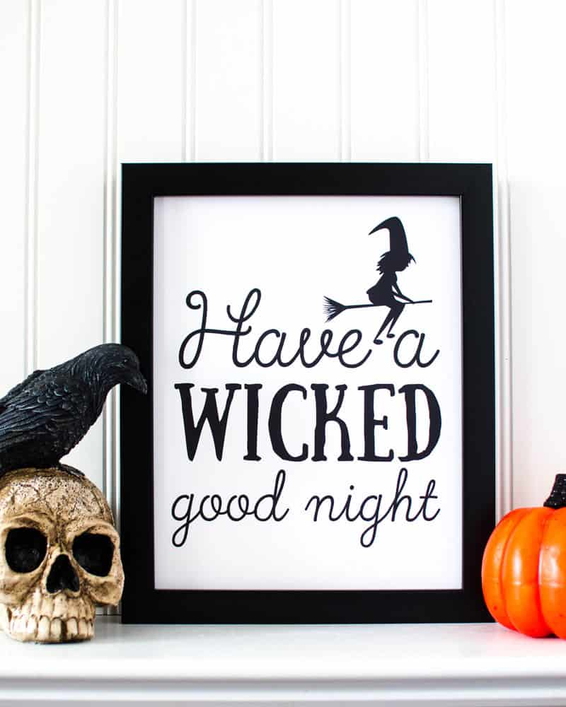 Free Printable Halloween Decorations To Spruce Up Your