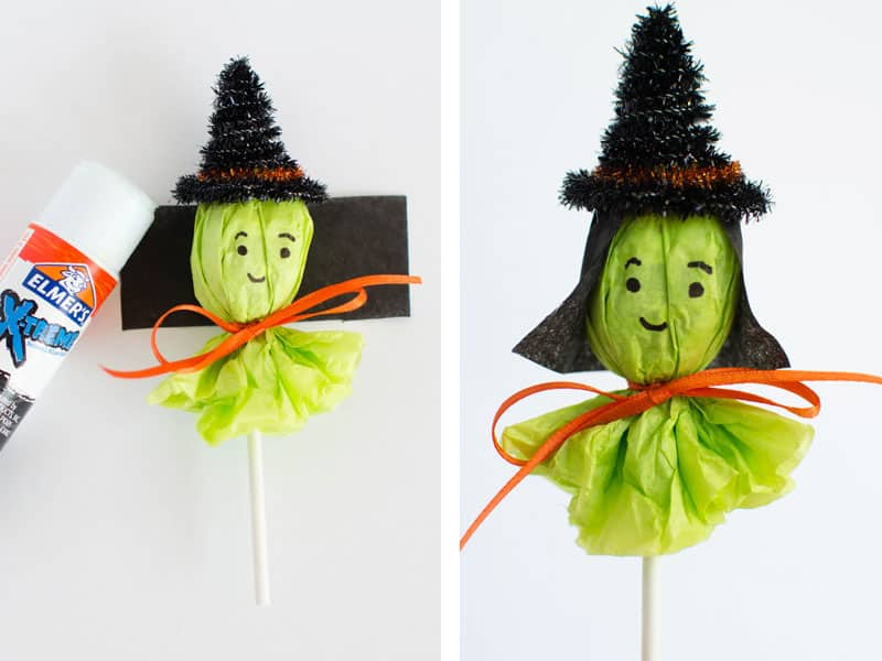 lollipop witch tutorial