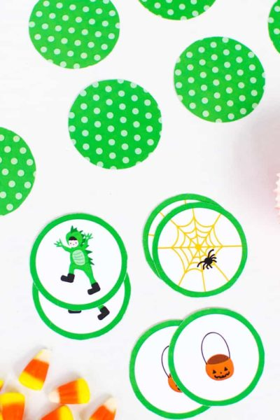 Adorable Halloween Matching Game For Kids