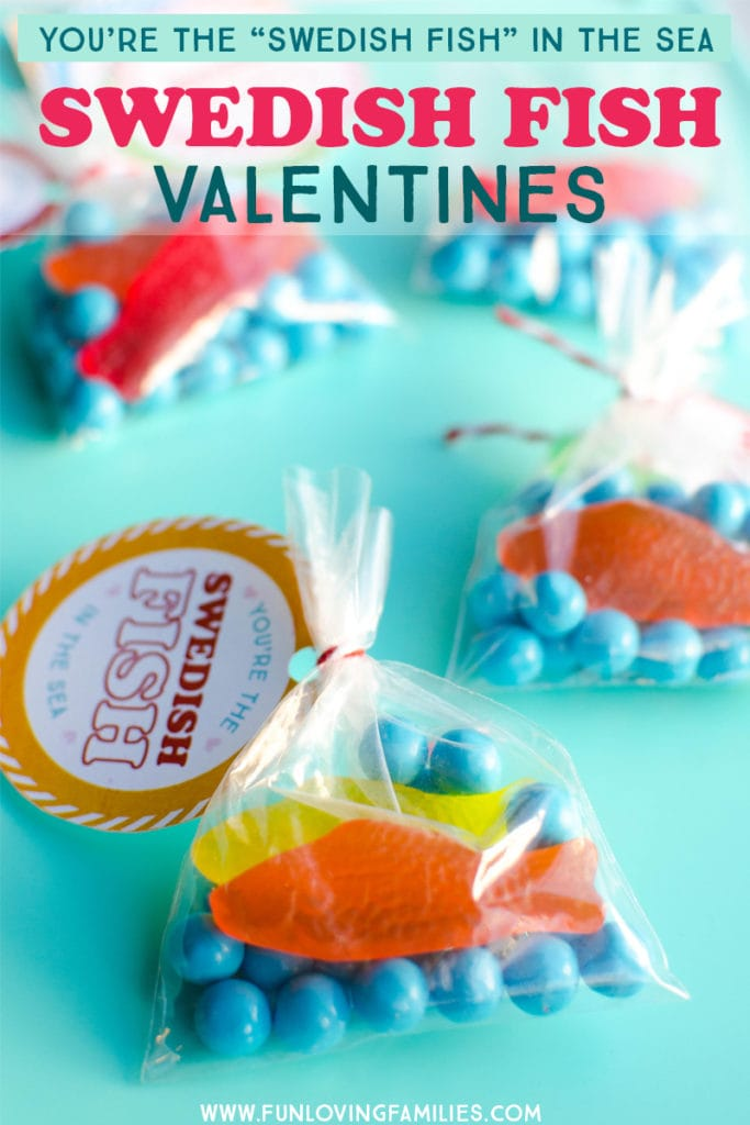 DIY cute fish classroom valentines