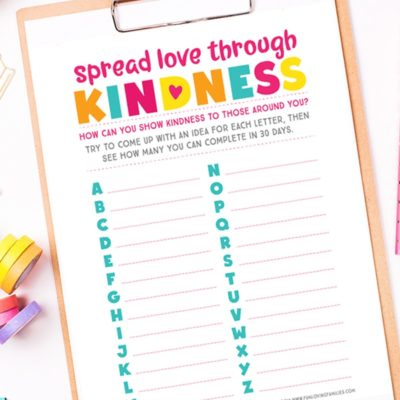 A Kindness Challenge for Kids