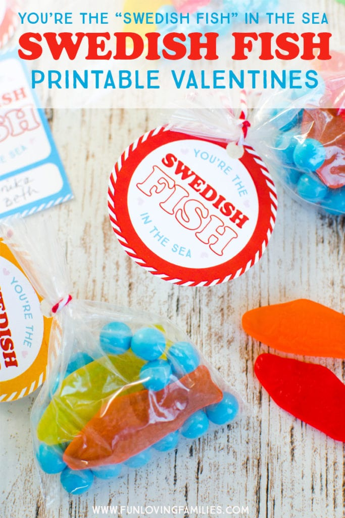 Swedish Fish Valentines Fun Loving Families