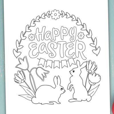 9 Easter Coloring Pages to Download for Free