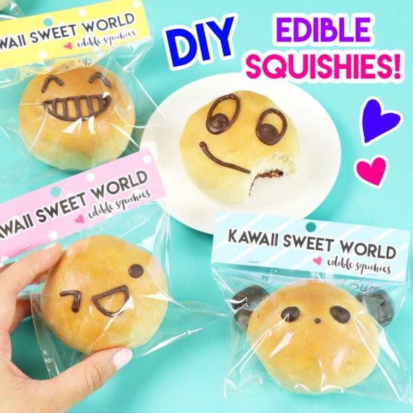 edible squisies, nutella bread rolls