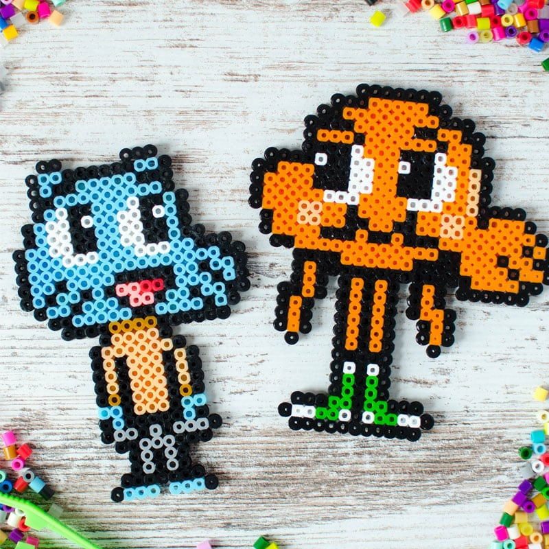 perler bead designs from amazing world of gumball