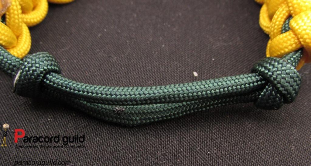 sliding knot paracord bracelet