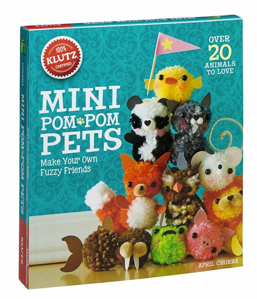 mini pom pom pets book