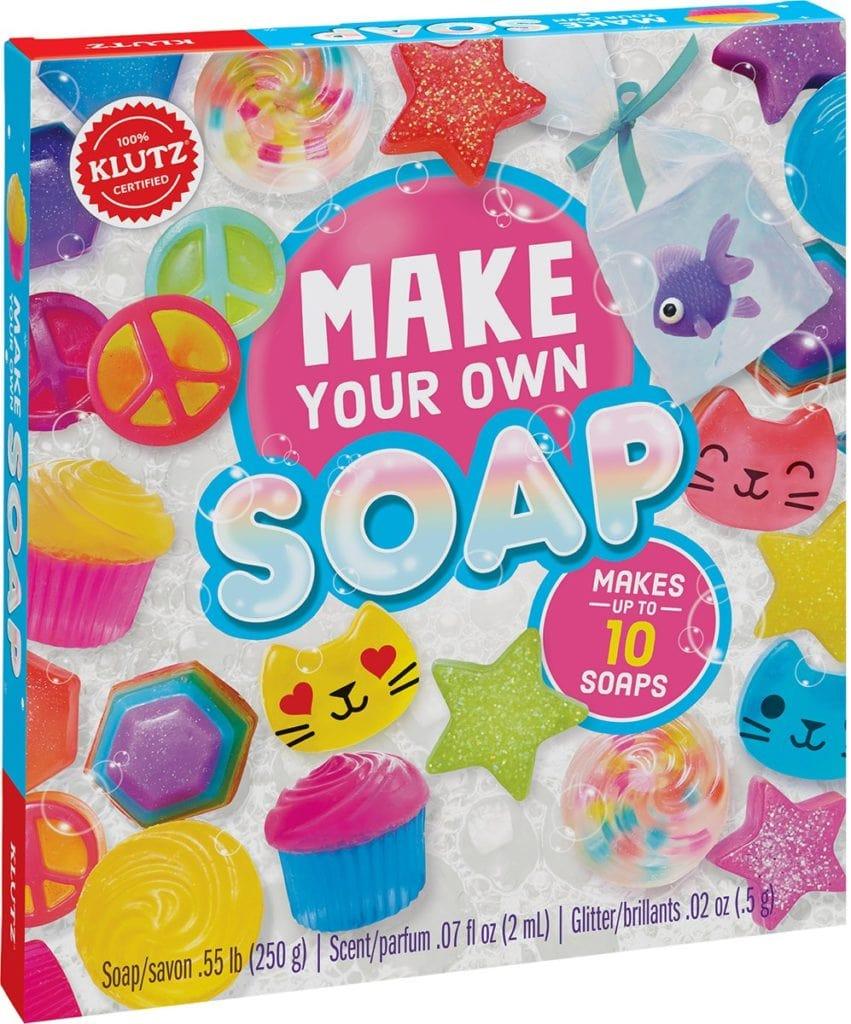 soap making it