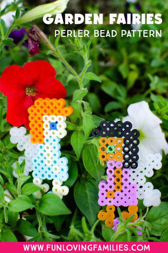Easy fairies made from Perler Beads