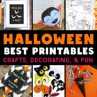 28 Free Halloween Printables (Perfect for Parties and Playdates)