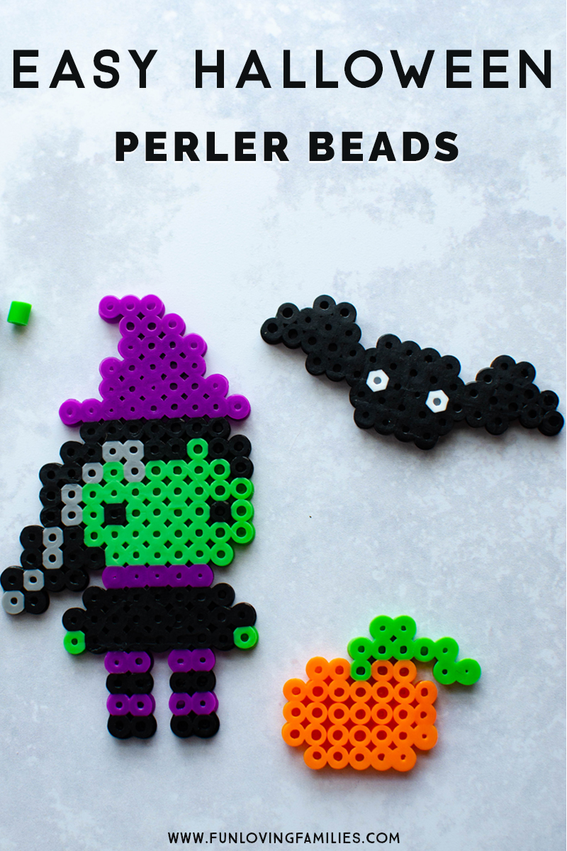 Easy halloween perler beads