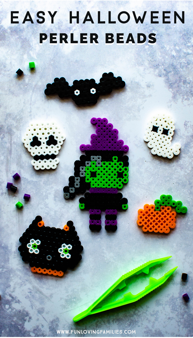 small Halloween perler bead patterns