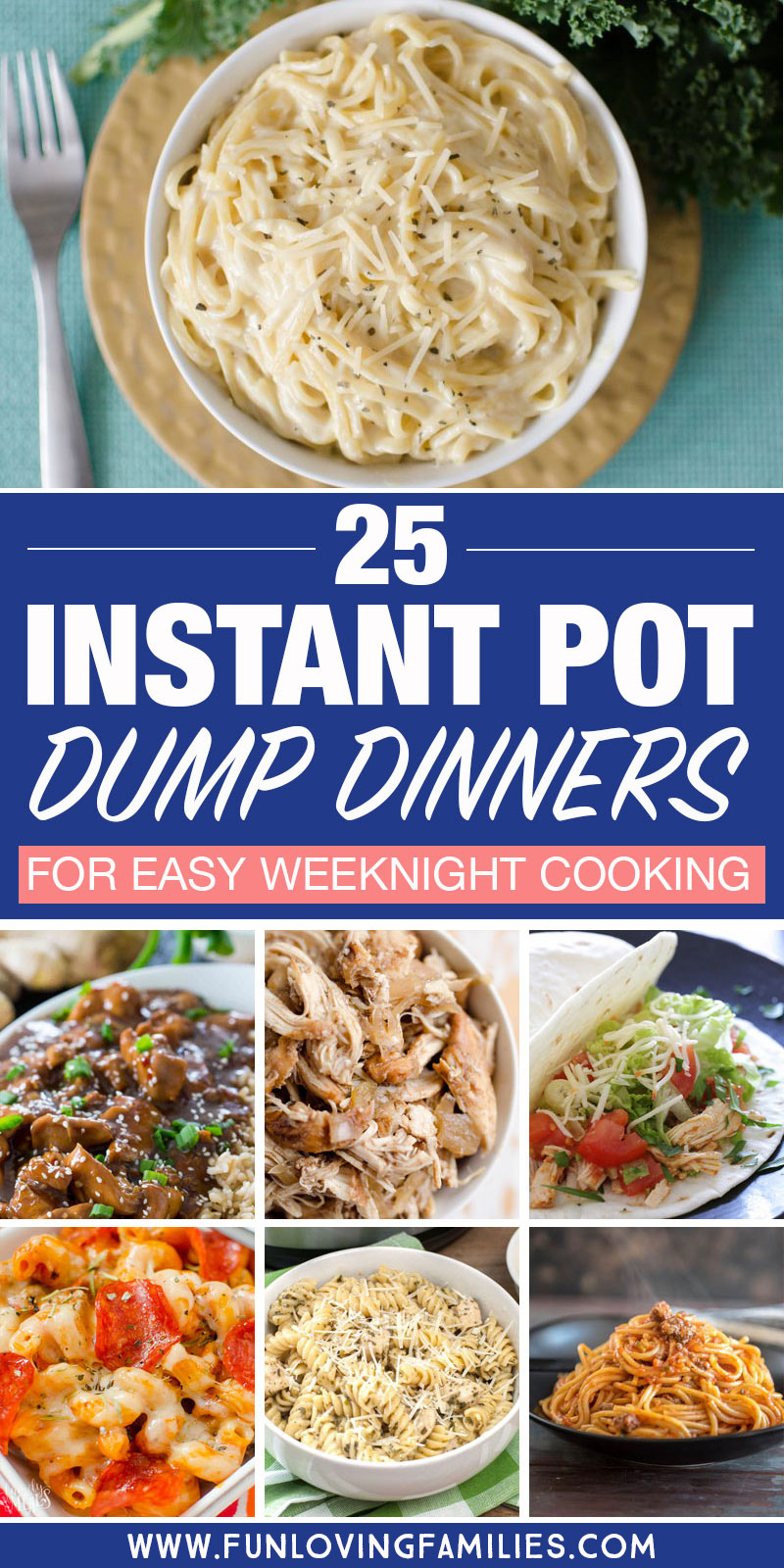 25 instant pot dump dinners for easy weeknight cooking