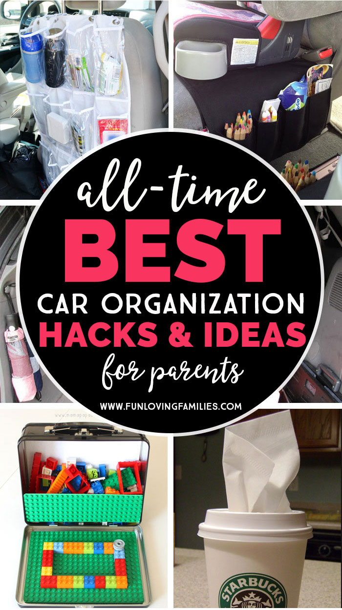 all time best car organization hacks and ideas for parents