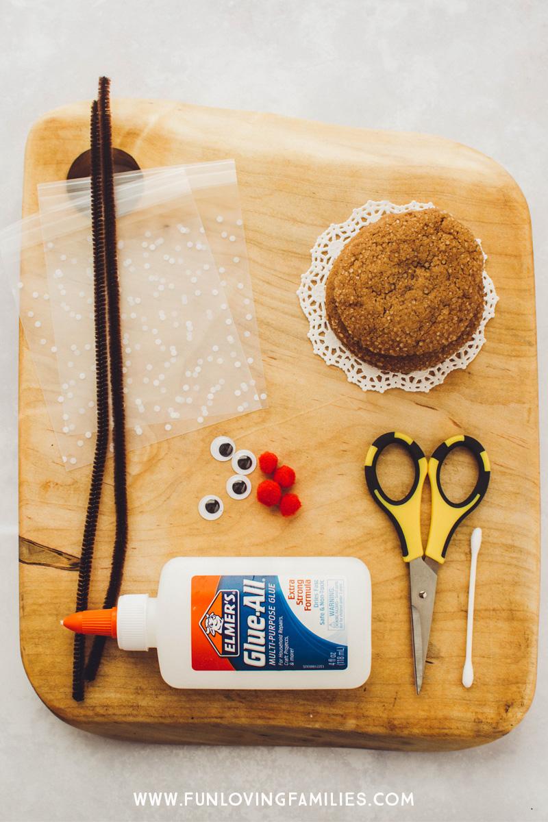cookie treat bag making supplies