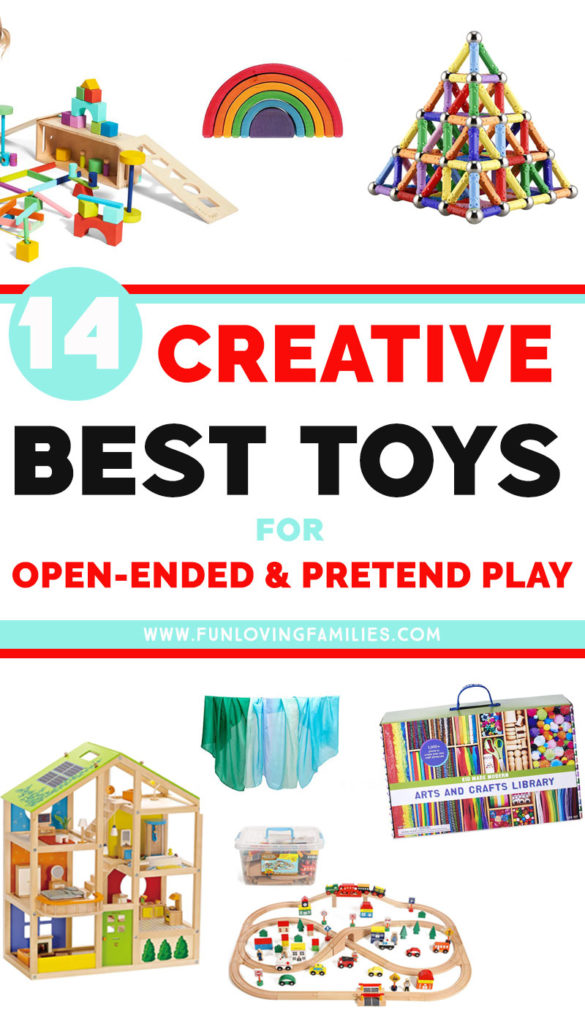 creative and open-ended toys for kids pretend play