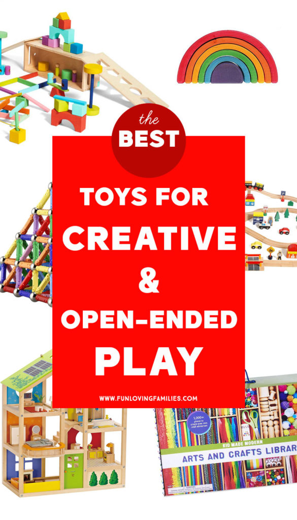 toys for open ended and creative play