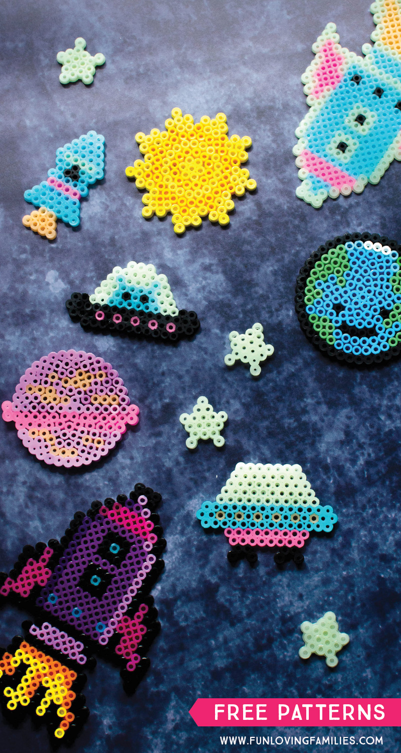 space perler bead patterns for kids