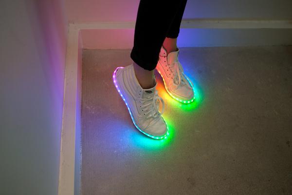 led light up shoes tutorial