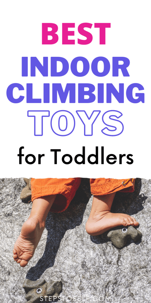 Best indoor climbing toys for toddlers