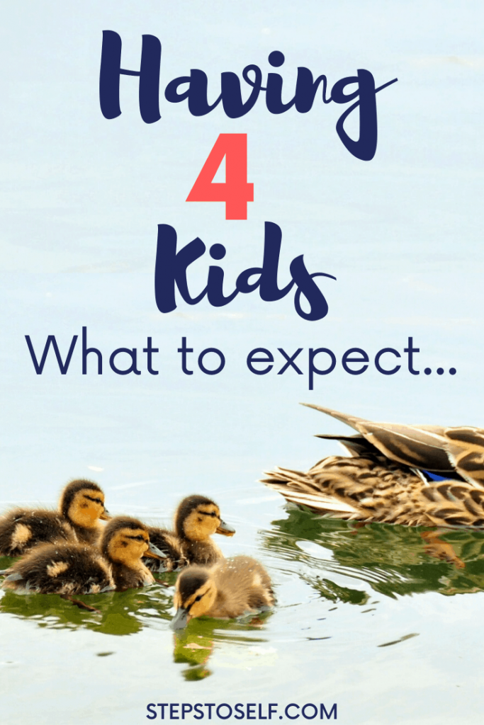 Having 4 kids: what to expect