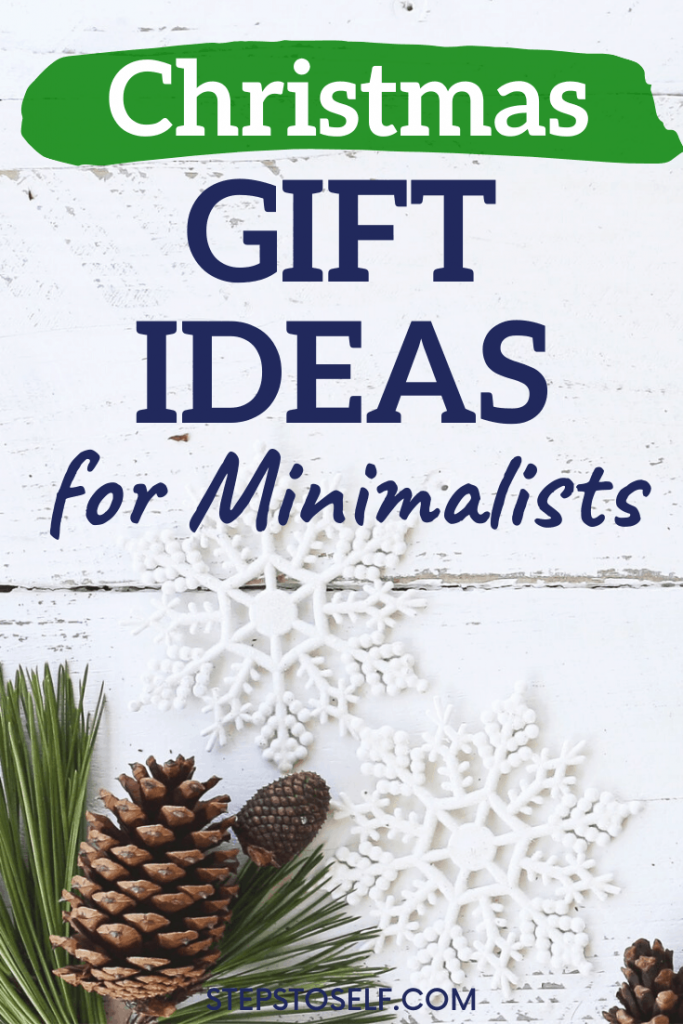 Christmas Gift Ideas for Minimalists