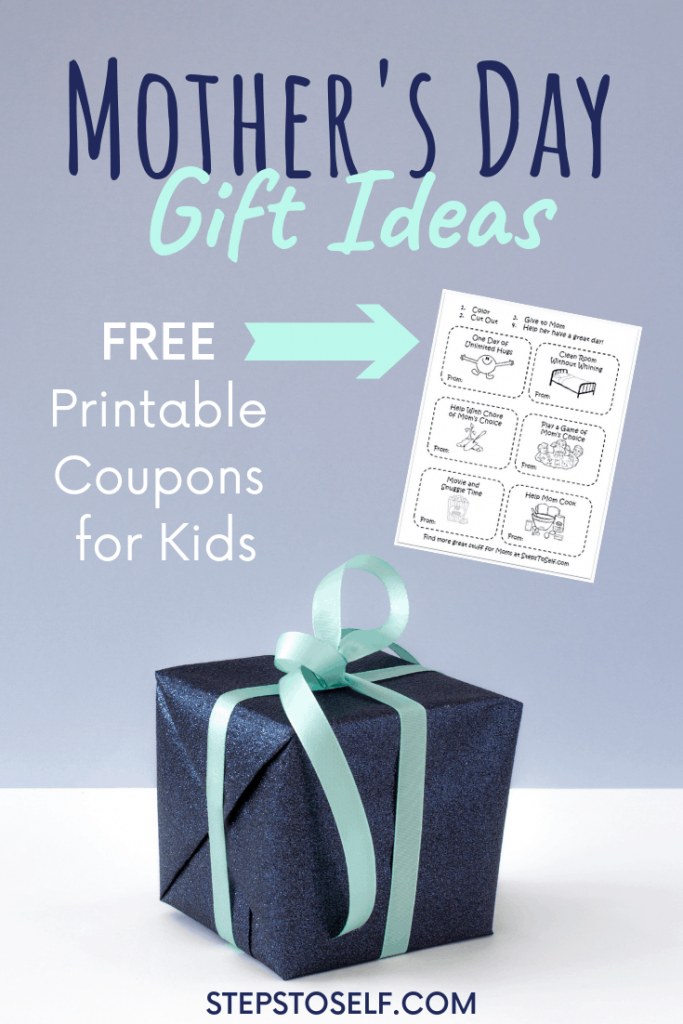 Mother's Day Gift Ideas with free printable coupons for kids