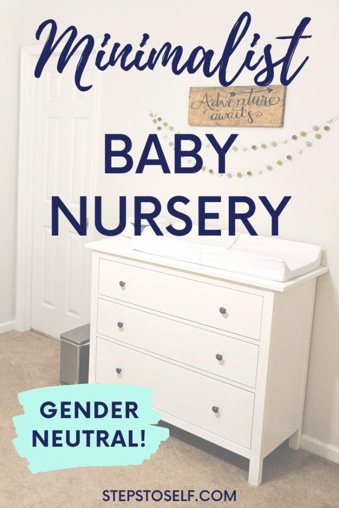 Minimalist baby nursery - gender neutral